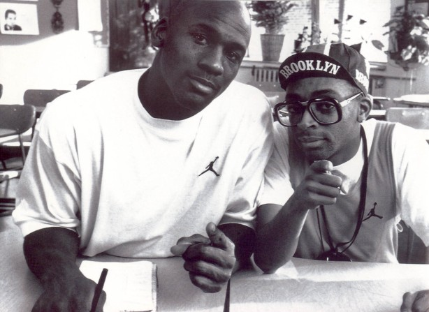 MJ and Mars Blackmon (Spike Lee)