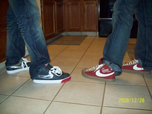 I can't even front my brother Devin put me onto Blazers....him and our cousin JayLee...keep a fresh pair!