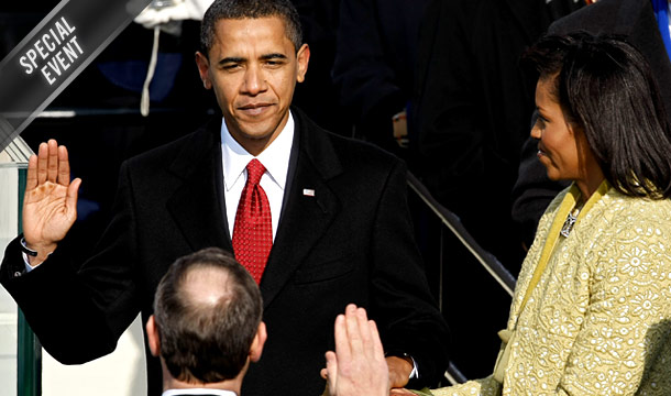 January 20th 2009, Barack Obama becomes the 44th President of these United States of America. There is a strong Black Woman by his side too!