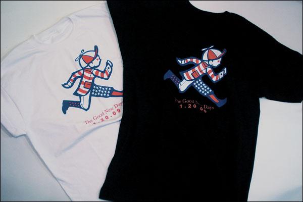 PLAYCLOTHS Inauguration shirts..