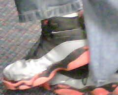 Grey patent leather & black 6 rings..??!??!??.....SAY NOT TO FAKS PLEASE!!!