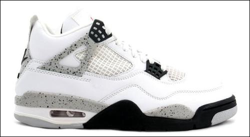 wht/cement 4's....a little bit of heaven on earth.