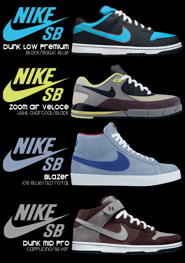 "The Angel/Devil Dunk low and the Stevie ""Dred"" Blazer mid highlight this months heat!!!"