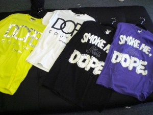 More DOPE COUTURE tees!!