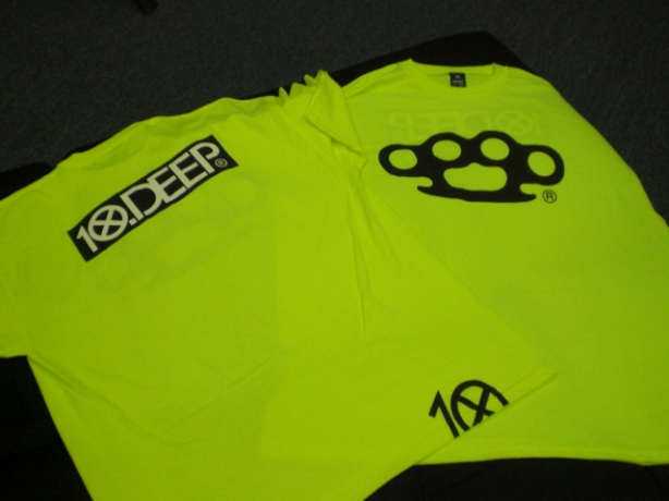 """""""STAY SEEN"""" reflective neon"""