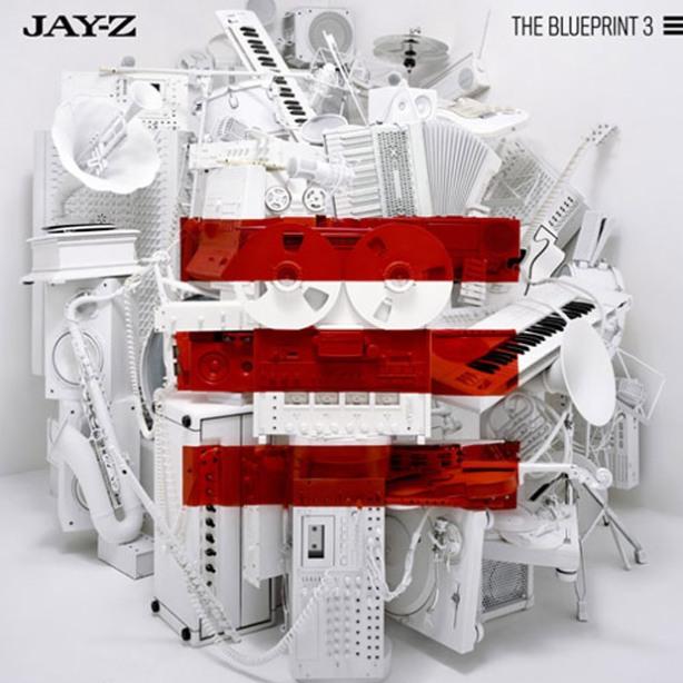 Jay-Z Blueprint 3 Cover Art