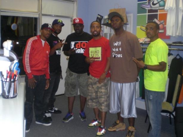 Gmack, Dre, Greg Street, TeeLarge, Fredthecool, Ty