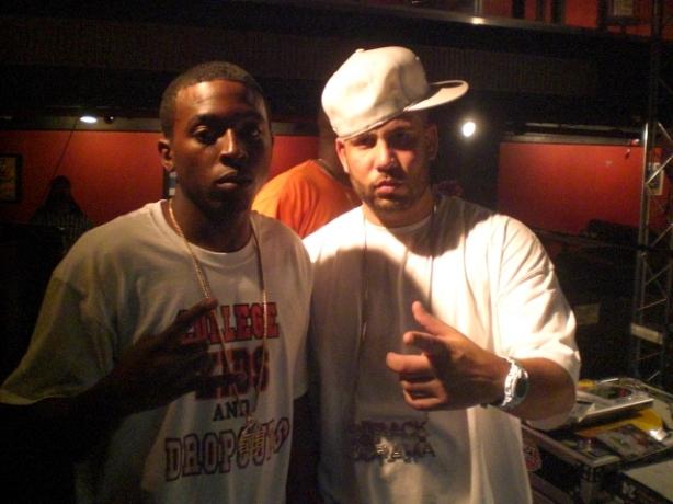 D.GOODZ chillin with the homie DJ DRAMA