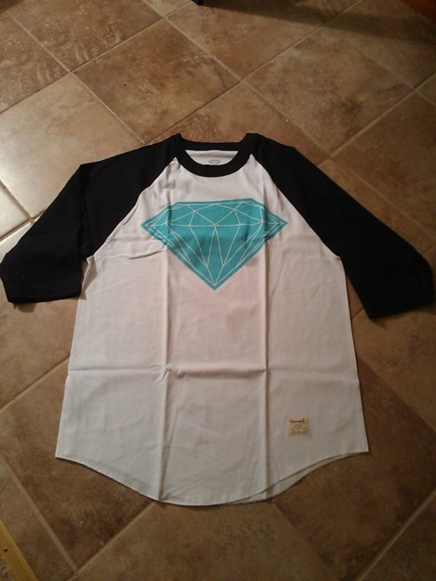 Diamond Supply BIG Brilliant Raglan @kreativsole